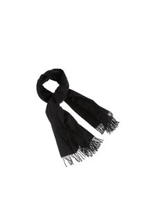 Canada Goose - Woven scarf in black
