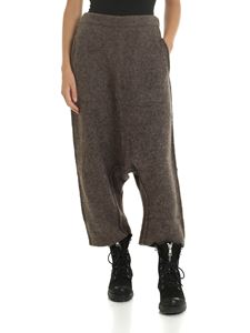 Rundholz - Baggy fit trousers in brown color