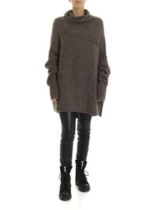 Rundholz - Wool and cashmere pullover in walnut color