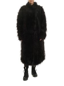 Rundholz Black Label - Black fur with multicolor details