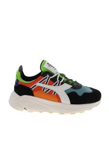 Diadora Heritage - Rave Leather Pop Sneakers in multicolor with logo