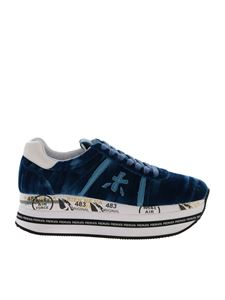 Premiata - Beth sneakers in blue and light blue