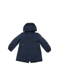 Save the duck - Twon down jacket in blue