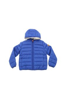 Save the duck - Giga down jacket in blue