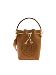 Fendi - Mon Tresor small bucket bag in hazelnut color