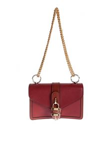 Chloé - Aby Chain shoulder bag in Sepia Brown