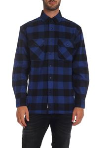 Woolrich - Buffalo Alaskan shirt in black and blue