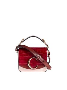 Chloé - Chloé C Mini bag in pink and red