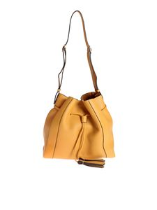 Mulberry - Small Millie Tote in Deep Amber