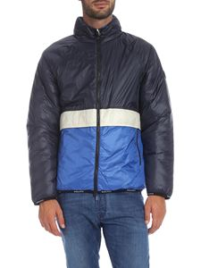 Woolrich - Piumino Pack-It blu