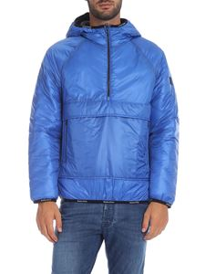 Woolrich - Piumino Pack-It Anorak bluette