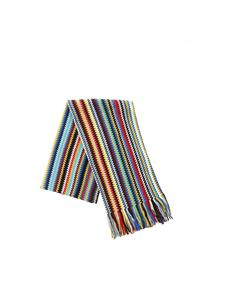 Missoni - Scarf with multicolor chevron pattern