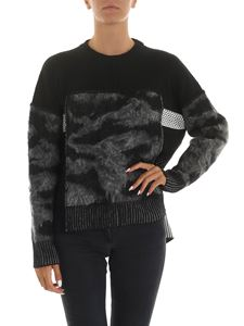 Diesel - M-Post pullover in black