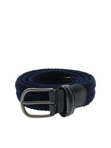 Anderson's - Blue braided belt