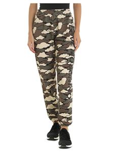Love Moschino - Camouflage green trousers