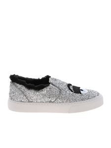 Chiara Ferragni - Flirting slip-on in silver color