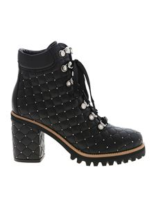 Le Silla - St Moritz ankle boots in black