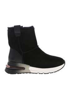 Ash - Kyoto ankle boots in black