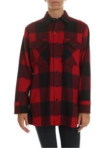 Woolrich - Check shirt in red and black