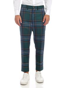 Vivienne Westwood  - Tartan trousers in green and blue