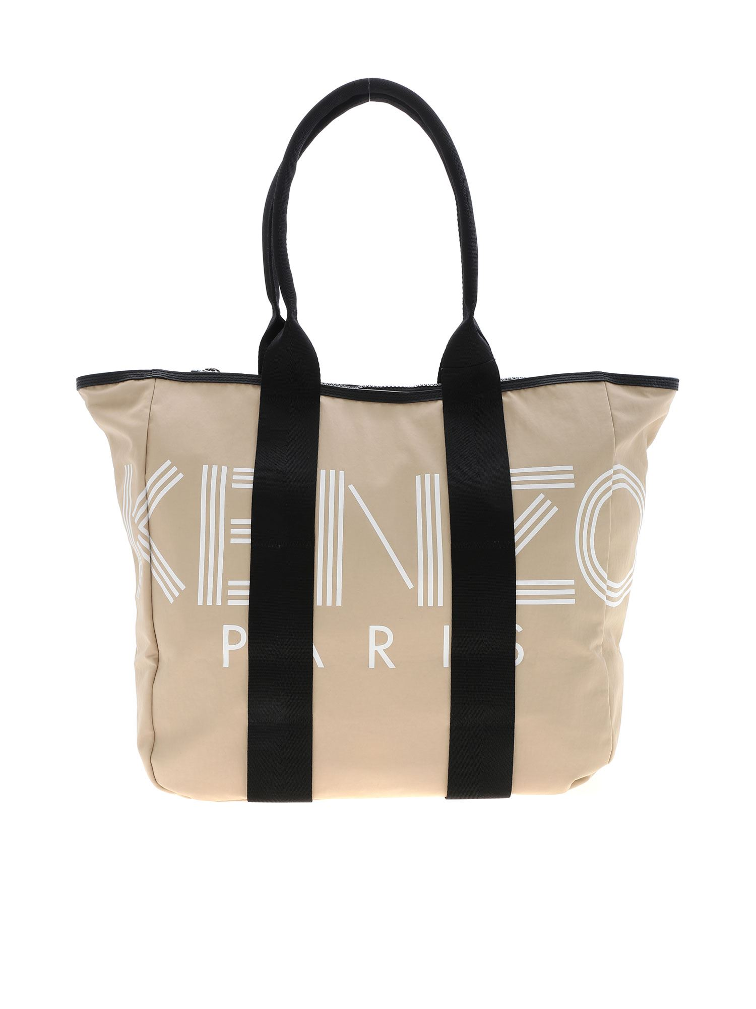 Kenzo Paris Tote Bag In Beige