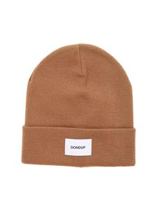 Dondup - Beanie in camel color