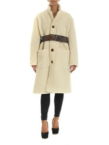 Vivienne Westwood  - Teddy coat in cream color