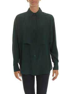 See by Chloé - Shirt in dark green with panels