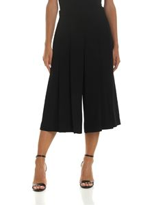 Vivetta - Crop trousers in black with pleats