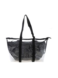 Gum Gianni Chiarini - Fantasy medium bag in transparent and black