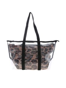 Gum Gianni Chiarini - Fantasy medium shopper bag in transparent and animal print