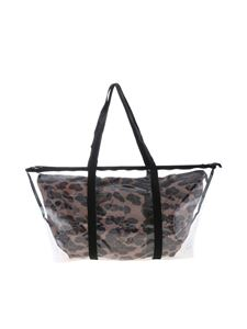 Gum Gianni Chiarini - Fantasy Large shopper bag intransparent and animal print