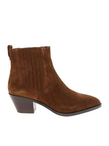 Ash - Floyd Bis Chelsea boots in tan color