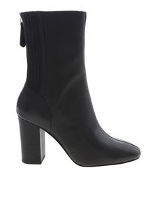 Ash - Jasmin ankle boots in black