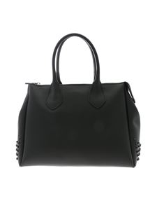 Gum Gianni Chiarini - Fourty large handbag in black