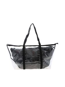 Gum Gianni Chiarini - Fantasy Shopper bag in transparent and black