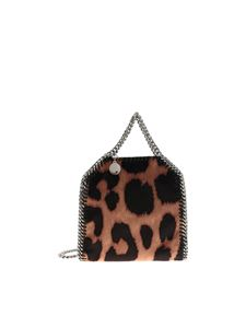 Stella McCartney - Tiny Falabella bag with animalier pattern