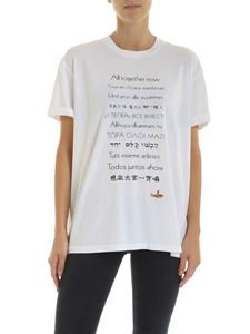 Stella McCartney - White T-shirt with contrasting print