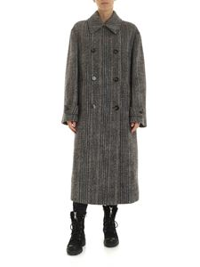 Stella McCartney - Tweed coat in shades of brown