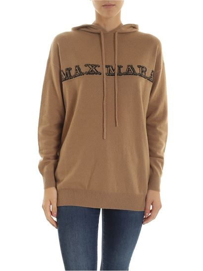 Redy Cashmere Pullover In Camel Color by Max Mara