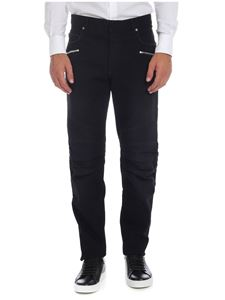 Balmain - Biker jeans in black