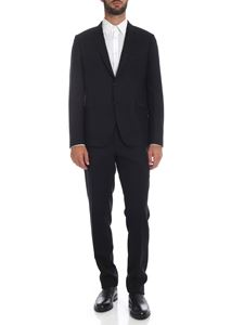 Paul Smith - Single-breasted slim fit dress in black