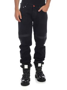 Heron Preston - Jeans Tape nero