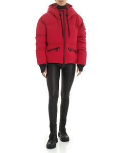 Moncler Grenoble - Airy down jacket in magenta color