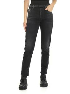 Marcelo Burlon - Overdye jeans in black