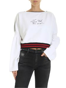 Marcelo Burlon - Love TTE sweatshirt in white