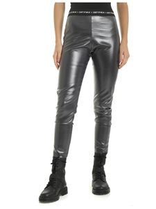 Marcelo Burlon County Of Milan - Leggings County Shiny neri