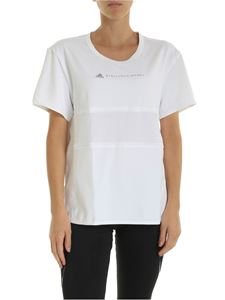 Adidas by Stella McCartney - T-shirt Run Loose bianca