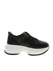 Hogan - Maxi I Active sneakers in black and gold