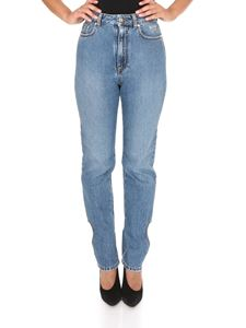 MSGM - Jeans with heart opening